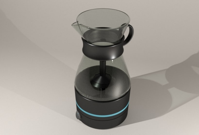 Kahvi, cofee maker -Product design 6