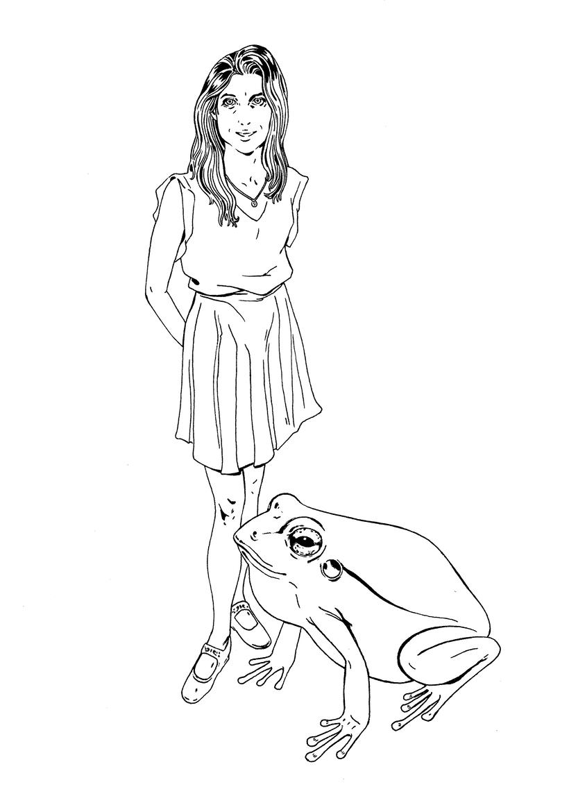Ilustración de moda Nº 2. Proceso 1