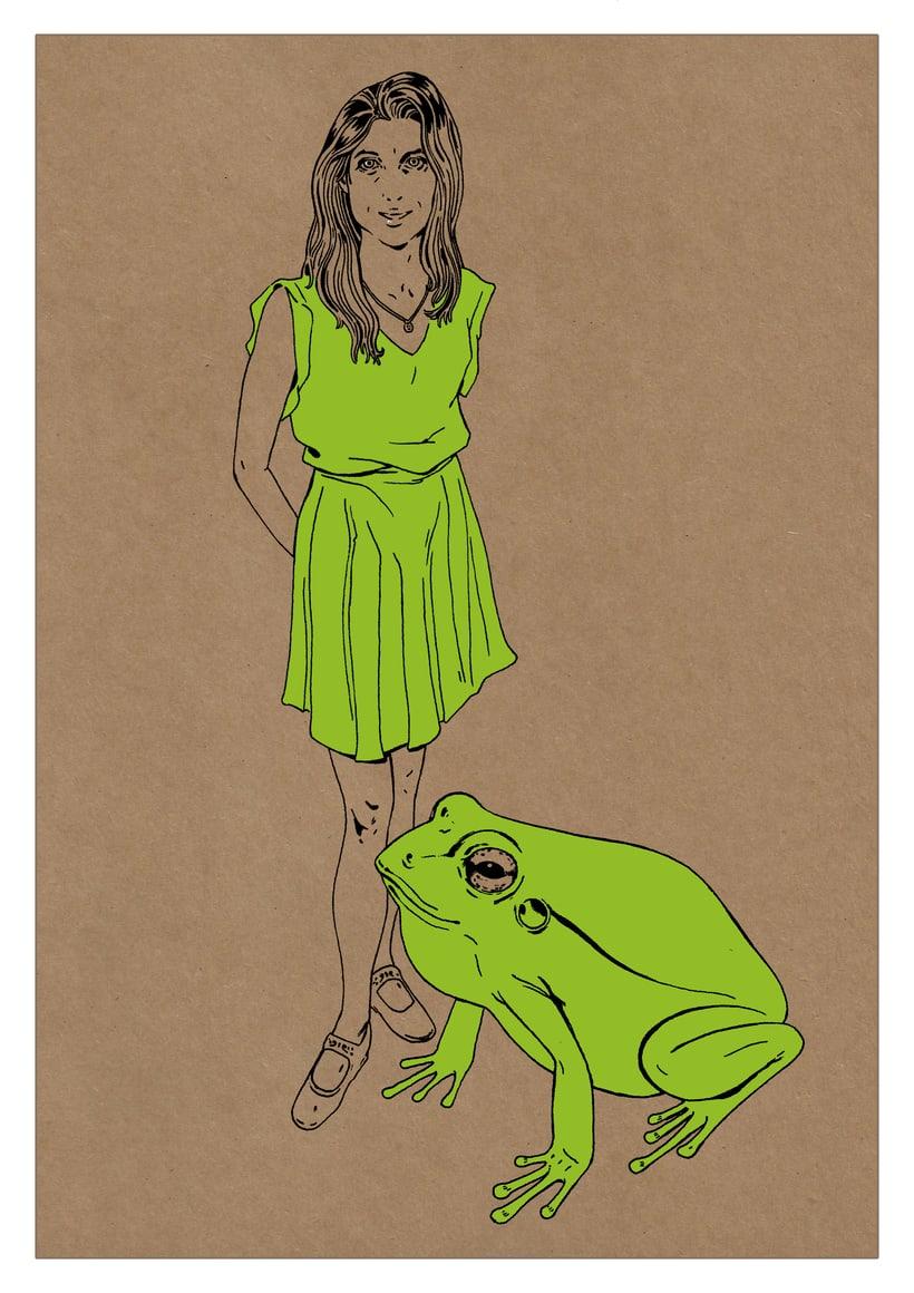 Ilustración de moda Nº 2. Proceso 2