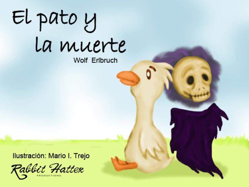 Pato y Muerte (Cuento ilustrado)  0