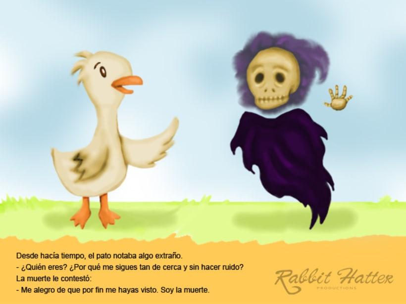 Pato y Muerte (Cuento ilustrado)  1