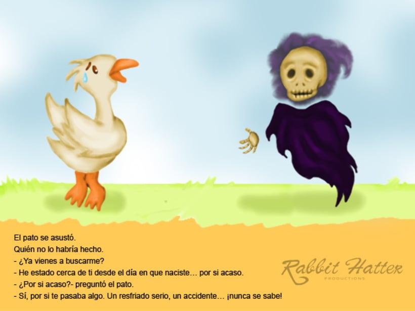 Pato y Muerte (Cuento ilustrado)  2