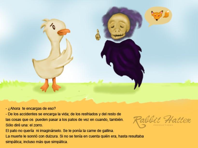 Pato y Muerte (Cuento ilustrado)  3