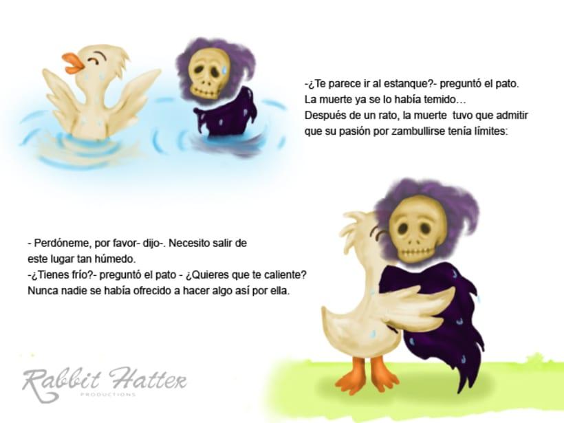 Pato y Muerte (Cuento ilustrado)  4