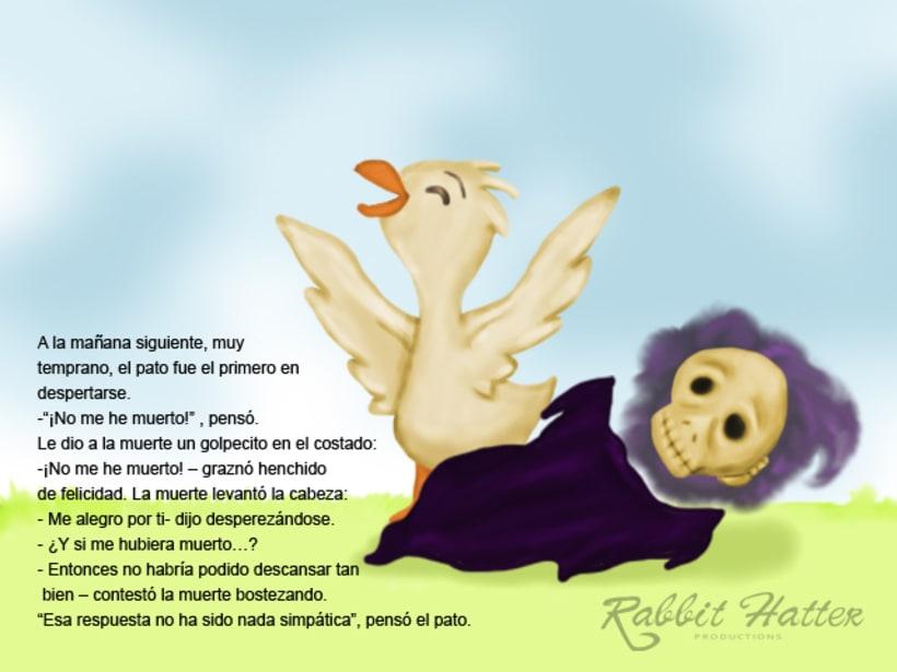 Pato y Muerte (Cuento ilustrado)  5