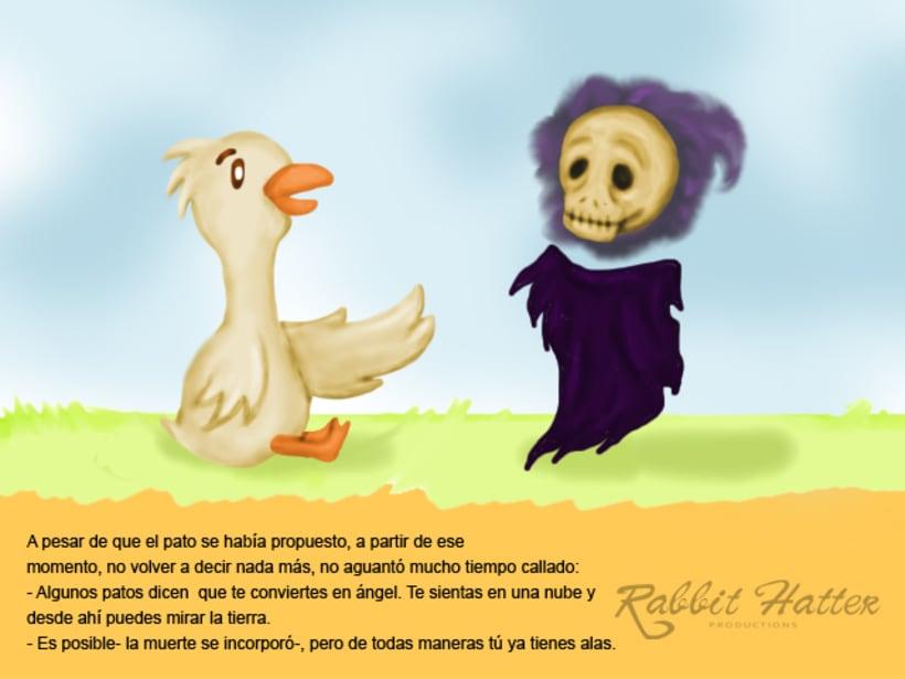 Pato y Muerte (Cuento ilustrado)  6