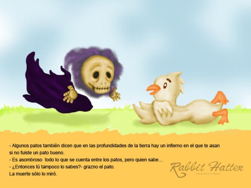 Pato y Muerte (Cuento ilustrado)  7