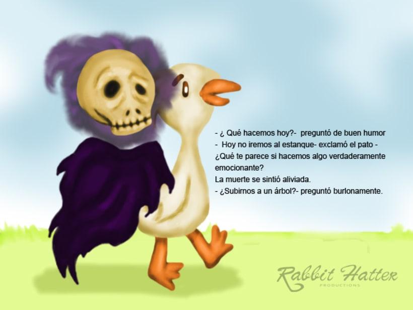 Pato y Muerte (Cuento ilustrado)  8