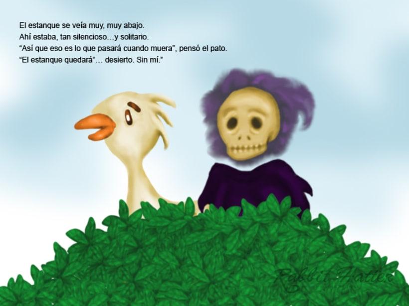 Pato y Muerte (Cuento ilustrado)  9