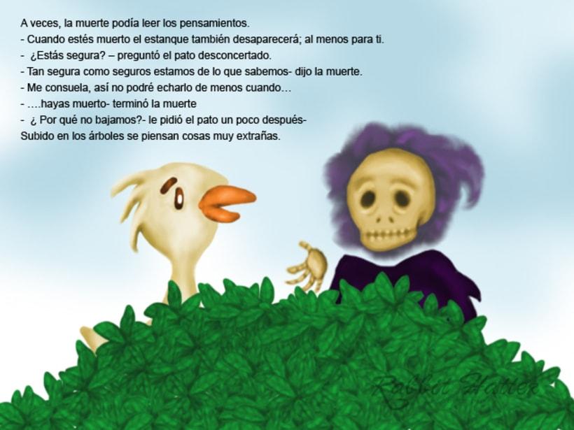 Pato y Muerte (Cuento ilustrado)  10