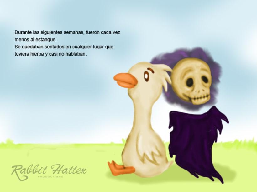 Pato y Muerte (Cuento ilustrado)  11