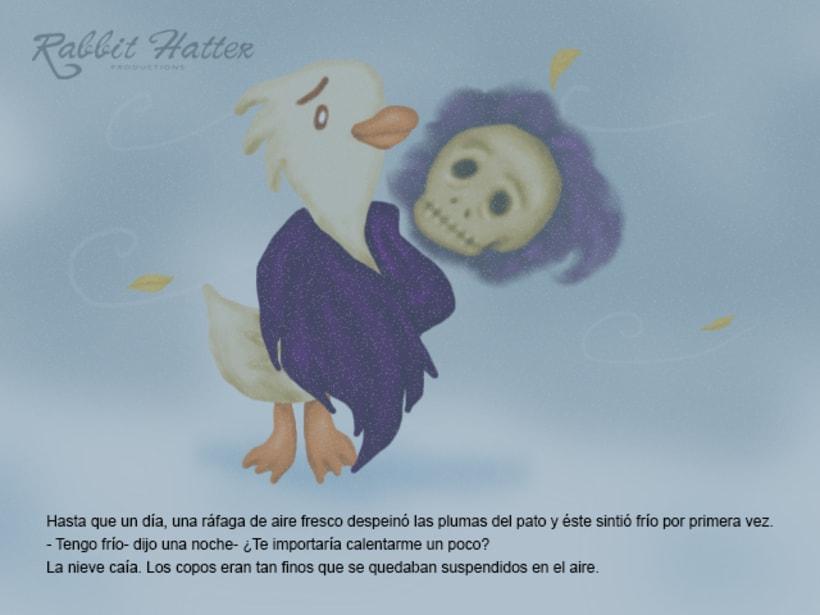 Pato y Muerte (Cuento ilustrado)  12