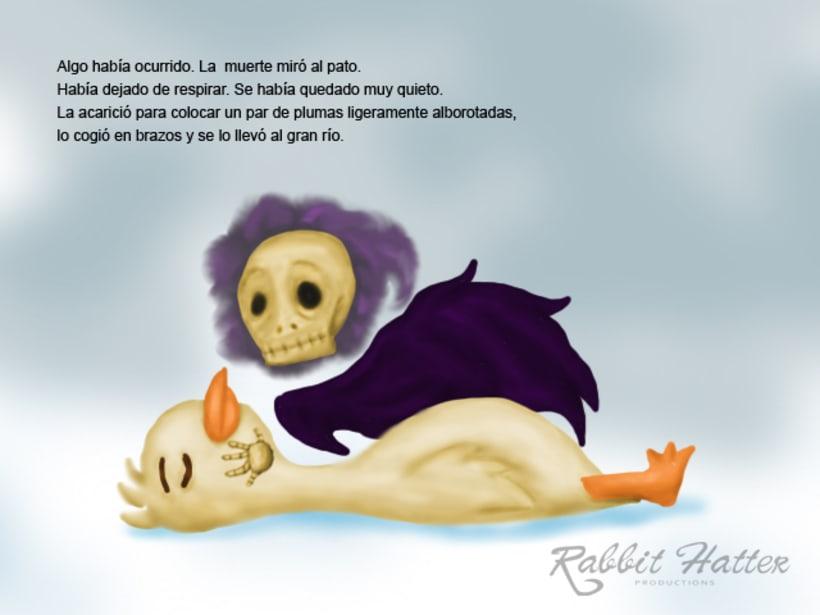 Pato y Muerte (Cuento ilustrado)  13