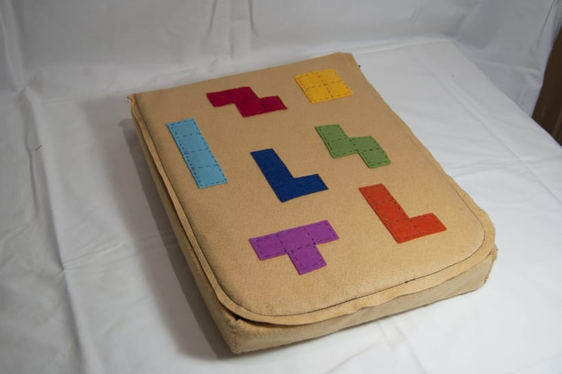 Juego de corcho inspirado en el clásico Tetris 1