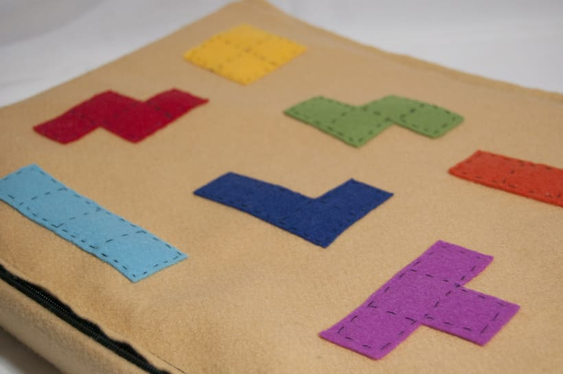 Juego de corcho inspirado en el clásico Tetris 3
