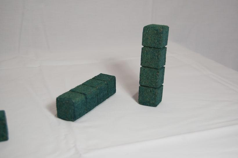 Juego de corcho inspirado en el clásico Tetris 6
