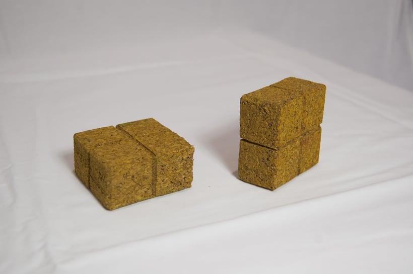 Juego de corcho inspirado en el clásico Tetris 9
