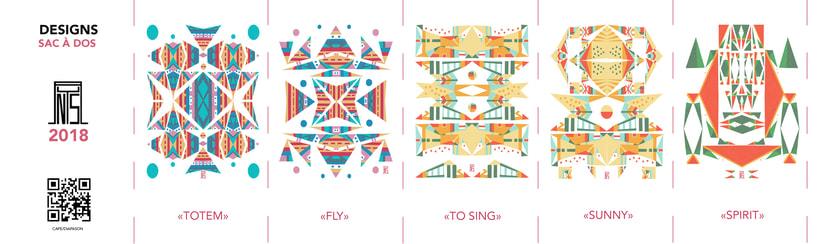Designs Tote bag - anYsa 2018 -1
