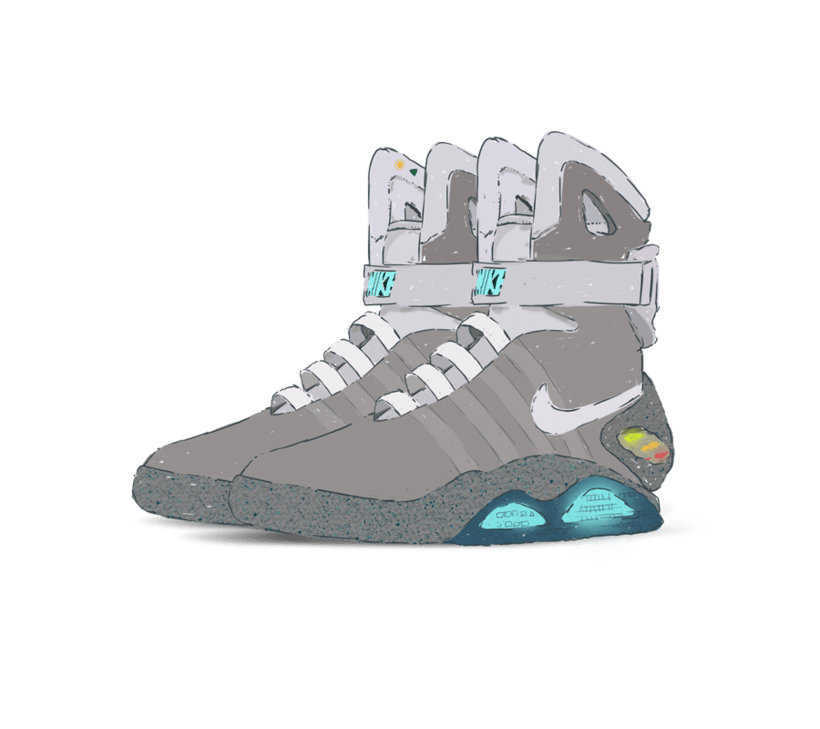 Sneakers Illustration 2