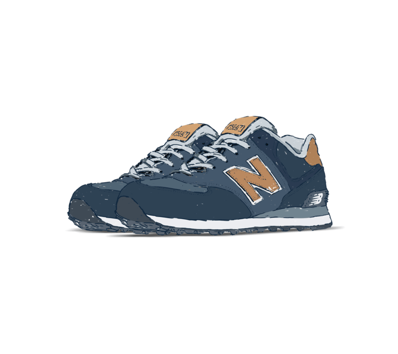 Sneakers Illustration 4
