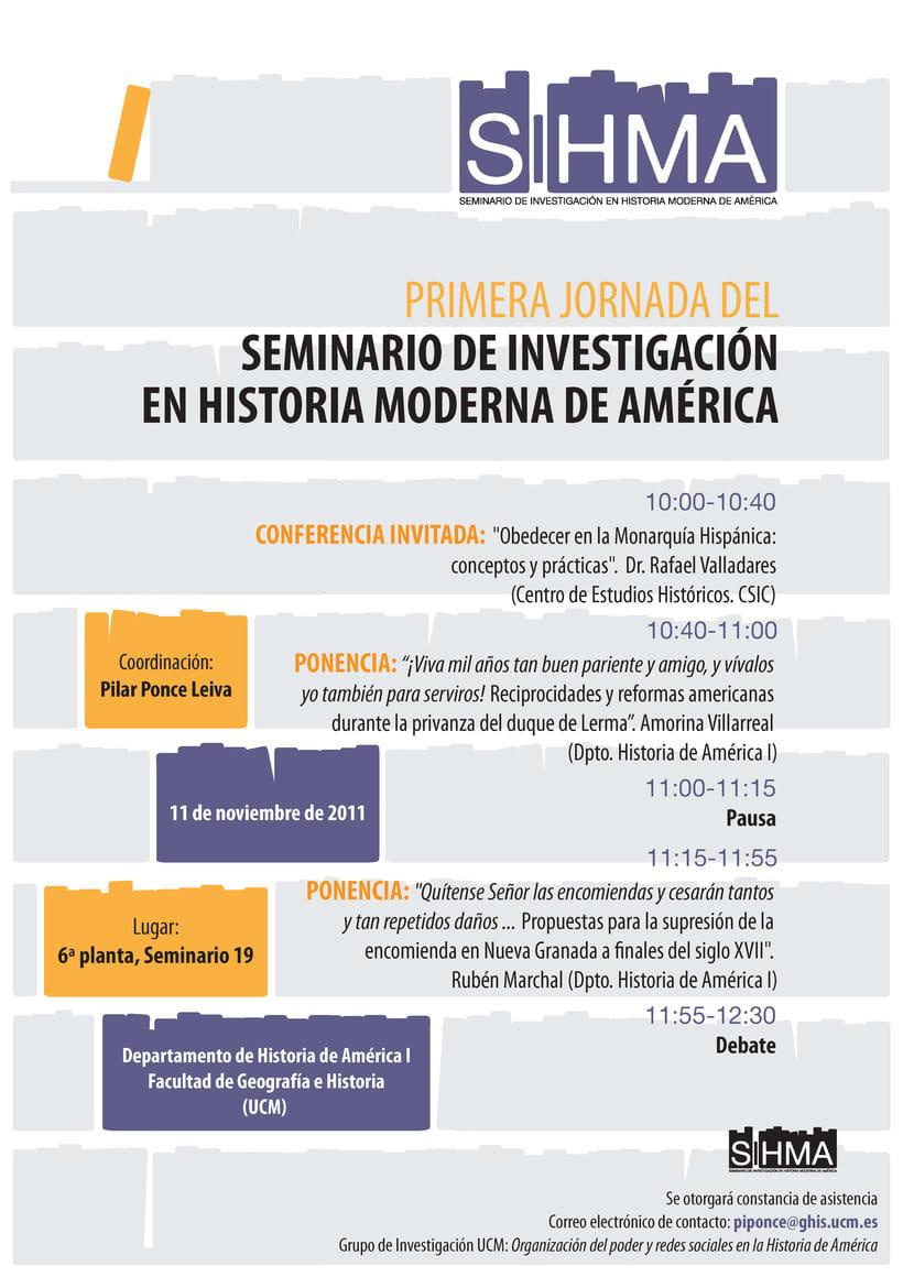 SIHMA - Seminario de Investigación de Historia Moderna de América 1