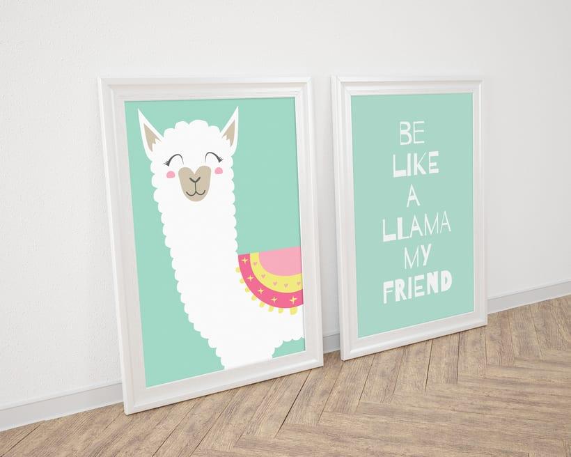 Be Like a Llama by lafifi_design -1