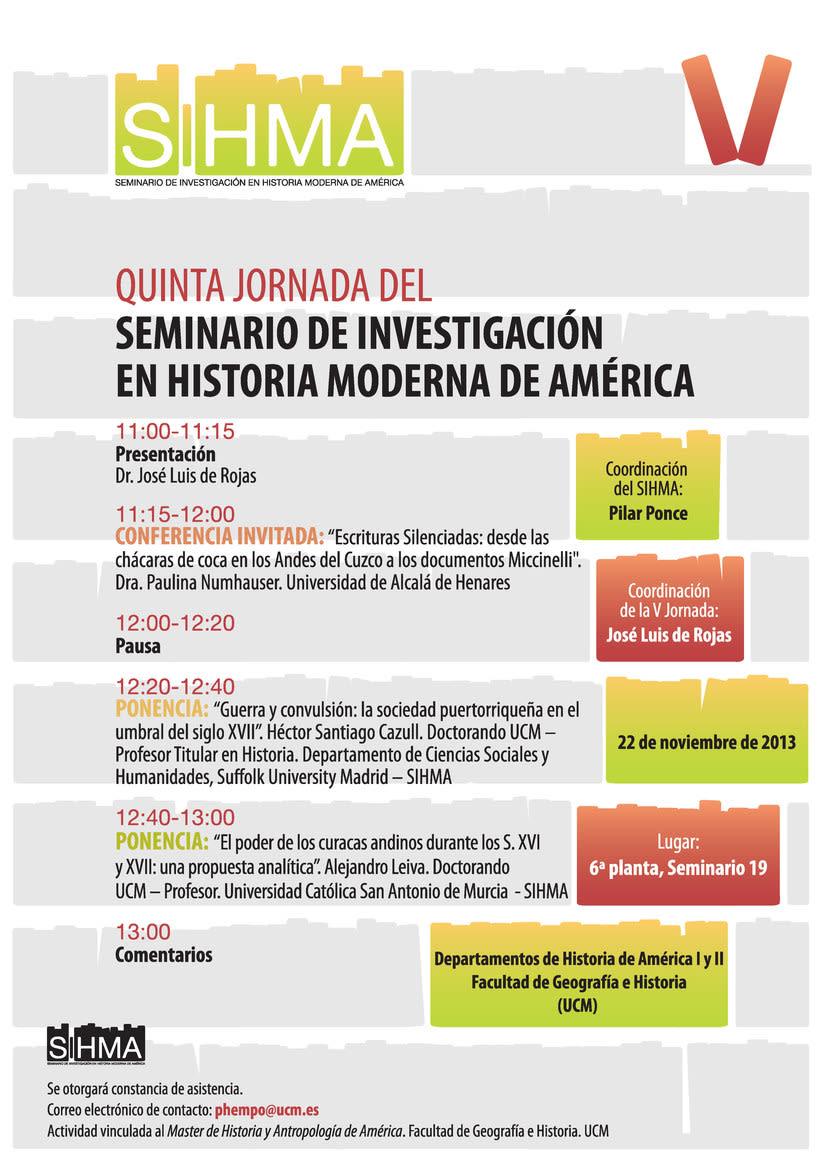 SIHMA - Seminario de Investigación de Historia Moderna de América 3