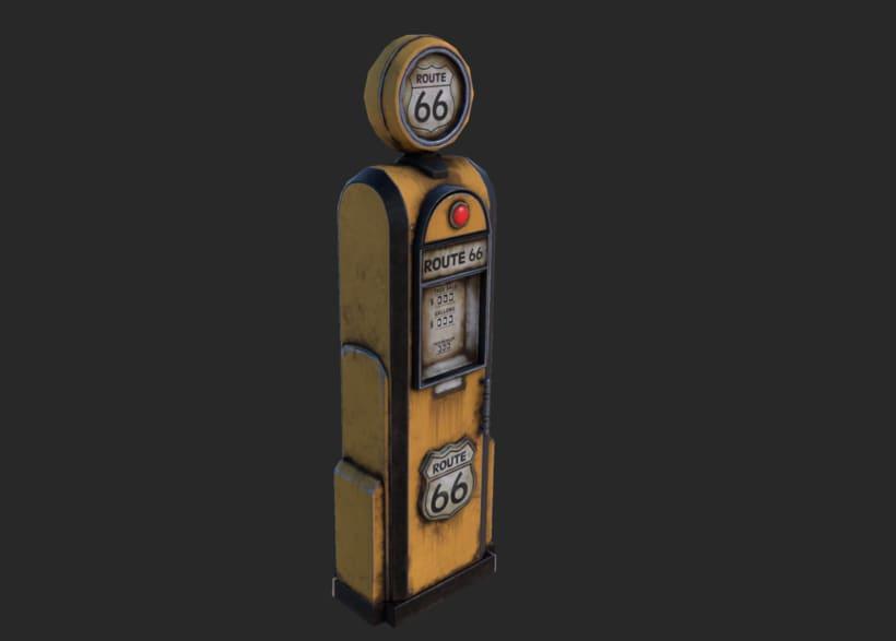 Vintage gas-station pump 2