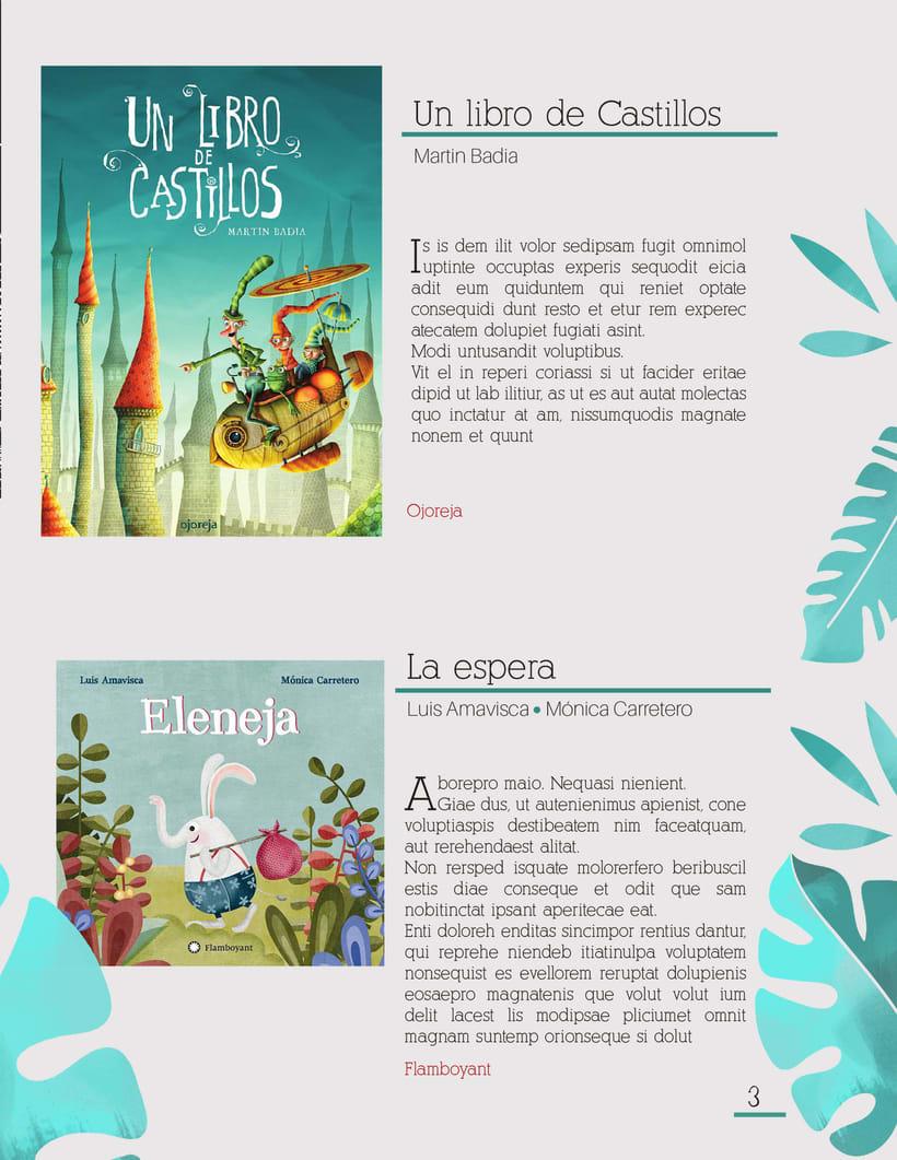 Diseño editorial Infantil  2