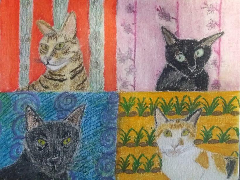Cuatro almas (Gaia, Tonki, Viru y Arte) 0