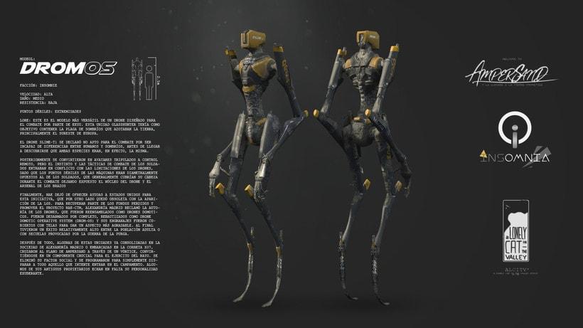 Robot DromOS 1