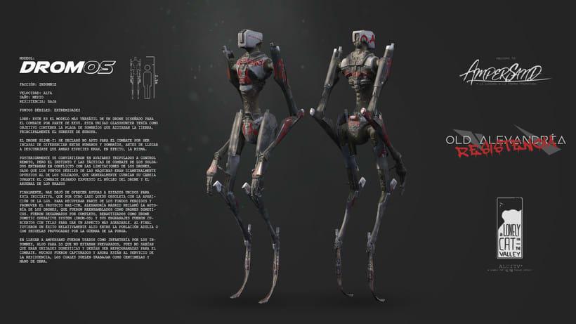 Robot DromOS 2
