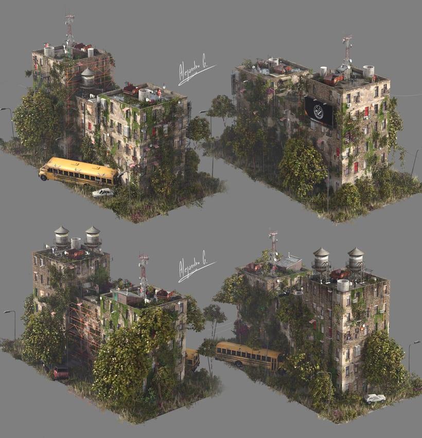 Random Building Generator (Quick sketch) 4