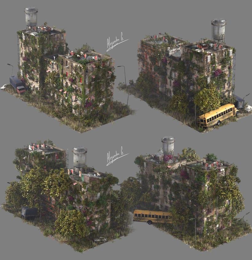Random Building Generator (Quick sketch) 6