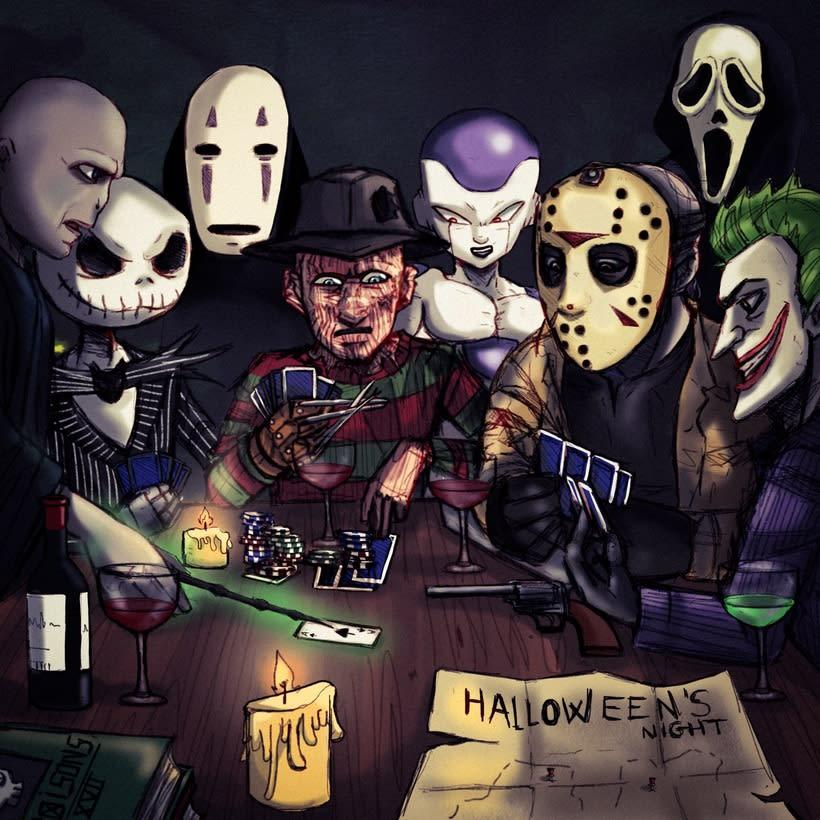 Reunión de Halloween -1