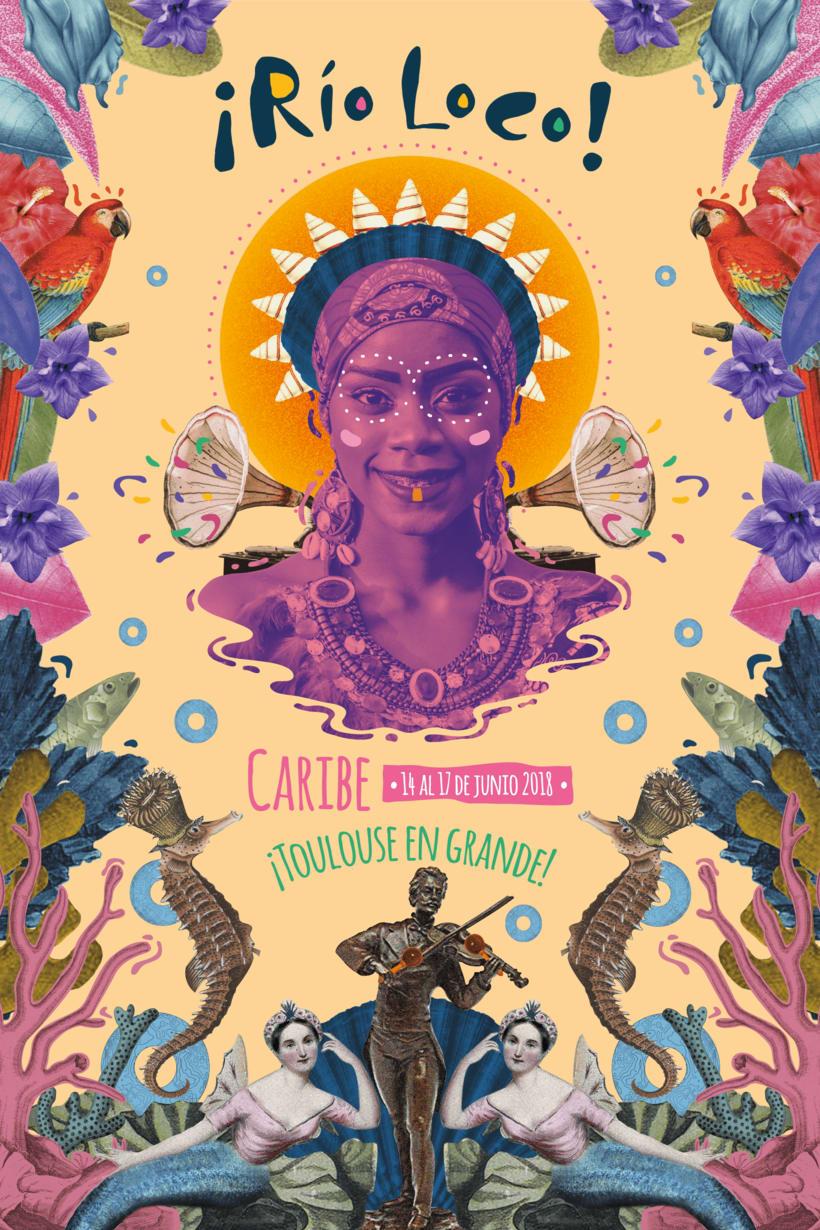 Propuesta Cartel Festival Río Loco - Toulouse Francia 0