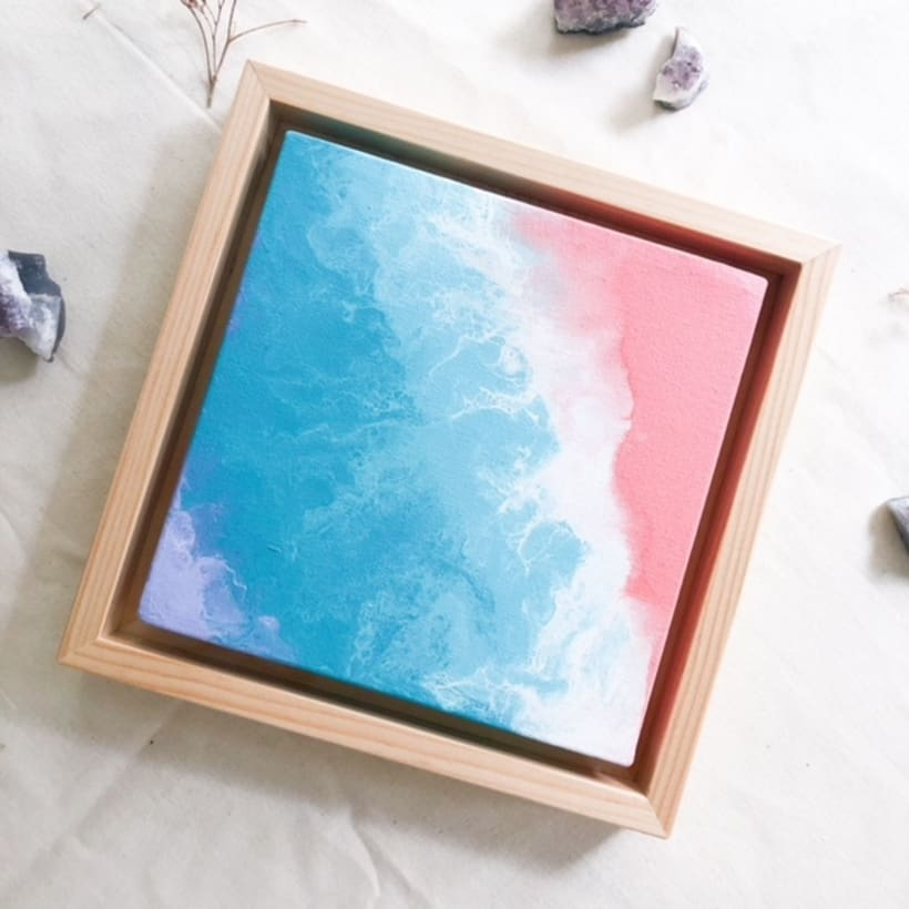 Serie de lienzos mini -1