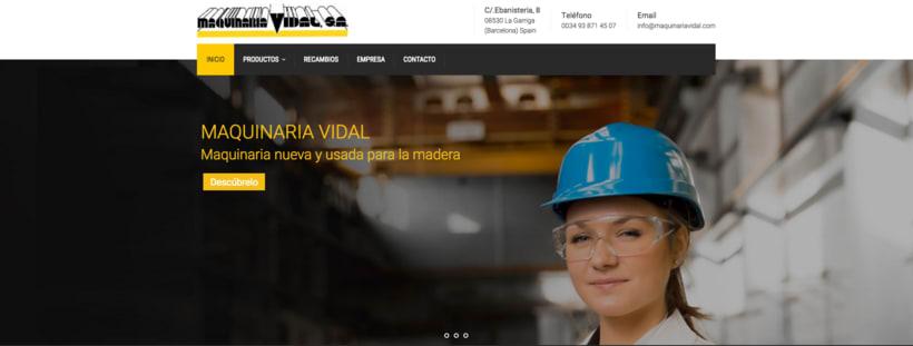 Web Maquinaria Vidal 0