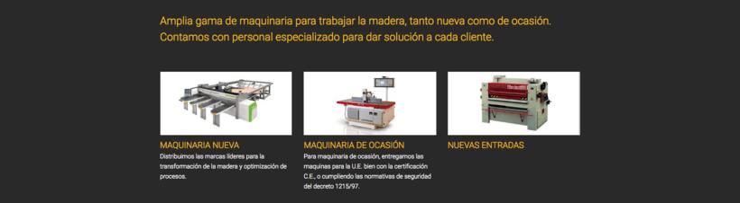 Web Maquinaria Vidal 1