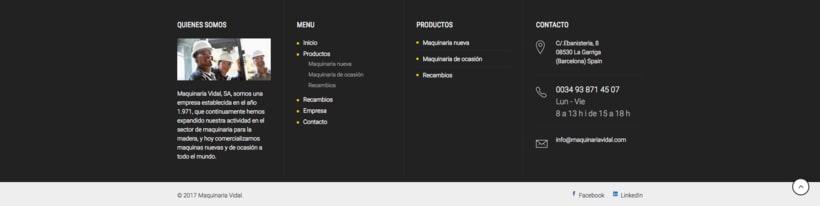 Web Maquinaria Vidal 3