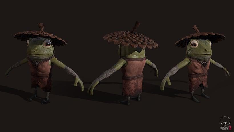 Samurai Frog 5
