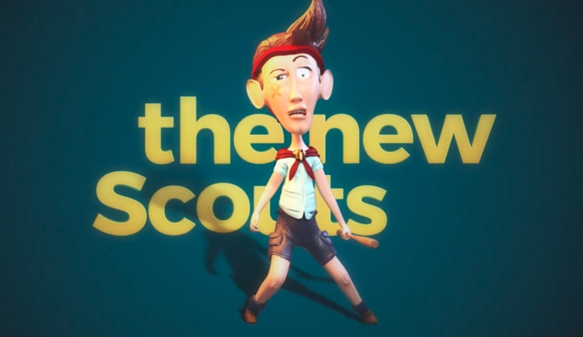 The New scouts Test character design 0