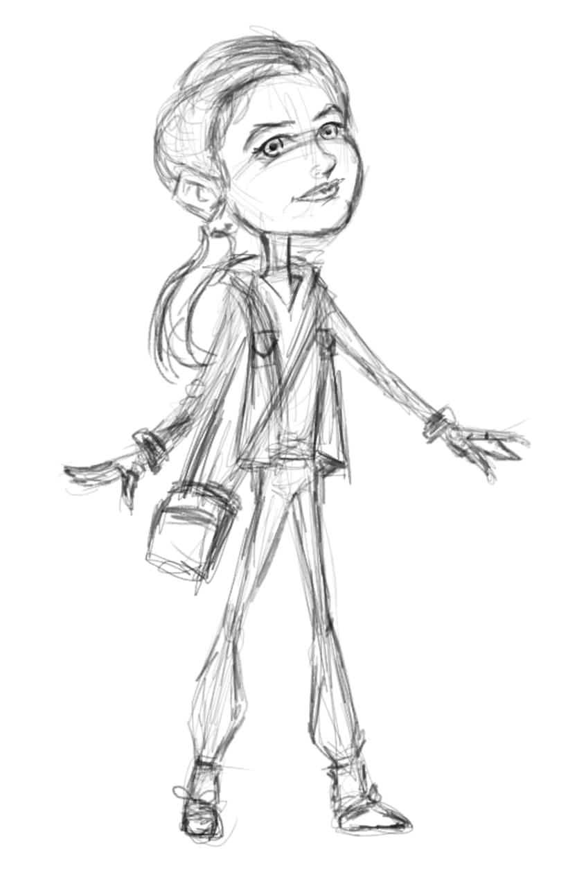 Athena ilustracion 3