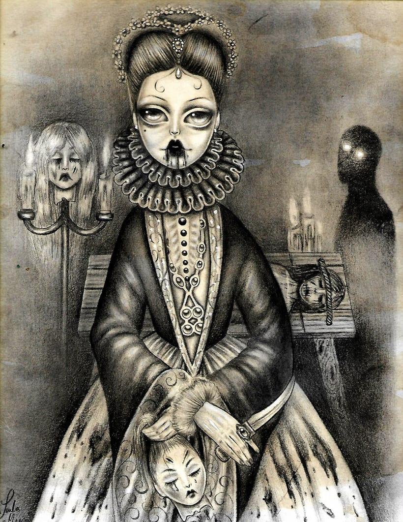 Ilustración Bathory por Paula Mayo 0