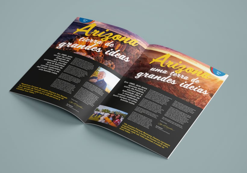 Revista Mensual Forever Living Products España & Portugal 1