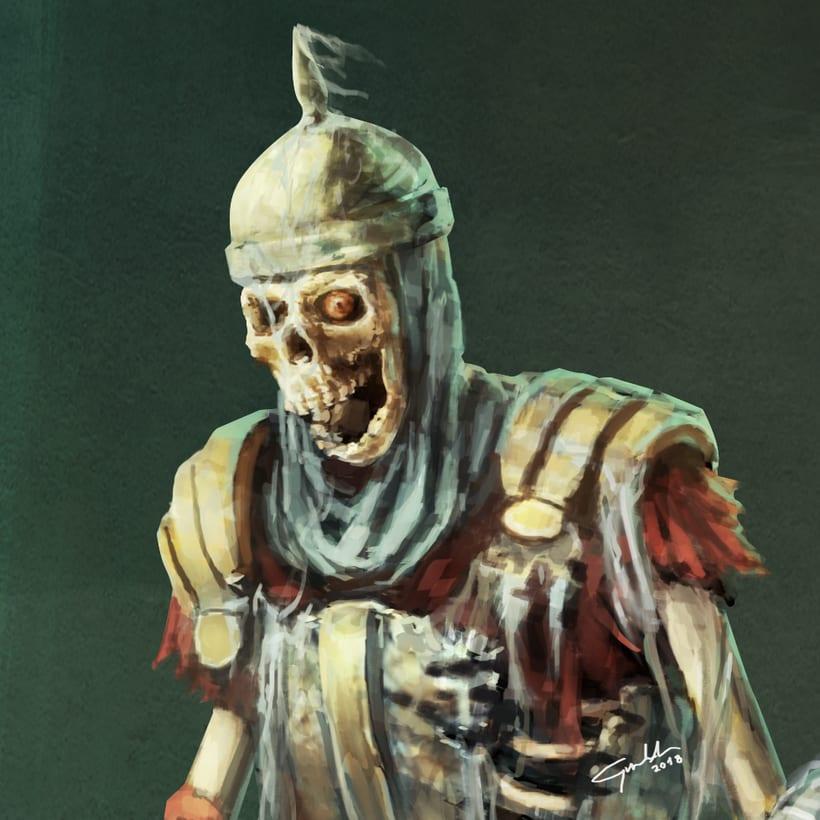 Skeleton warrior -1