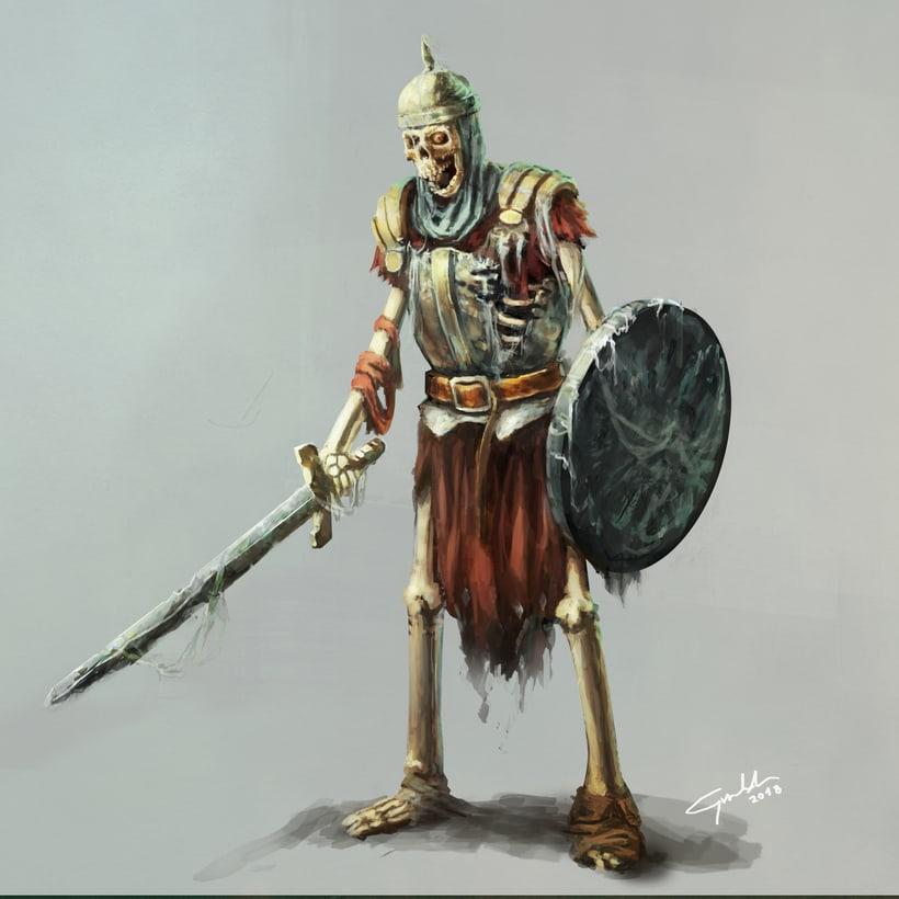 Skeleton warrior 0