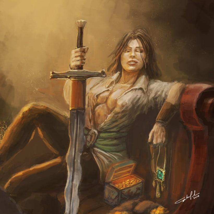 Rogue swordmaster 0