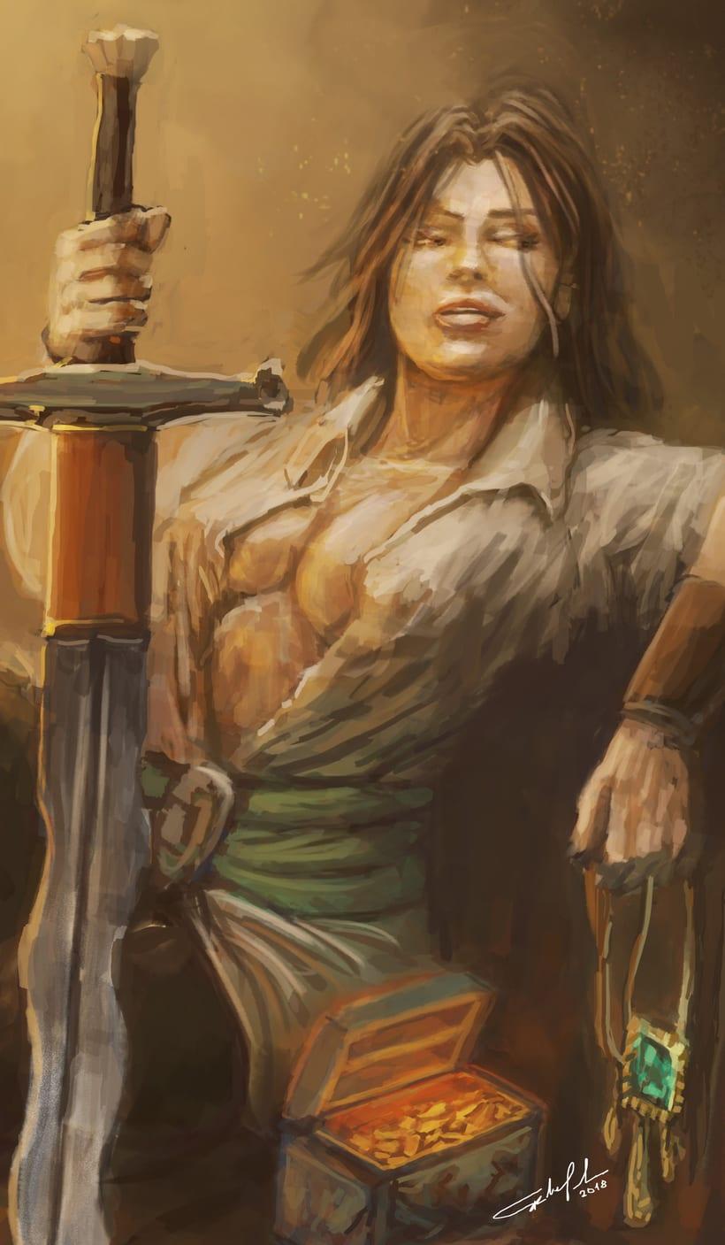 Rogue swordmaster 1