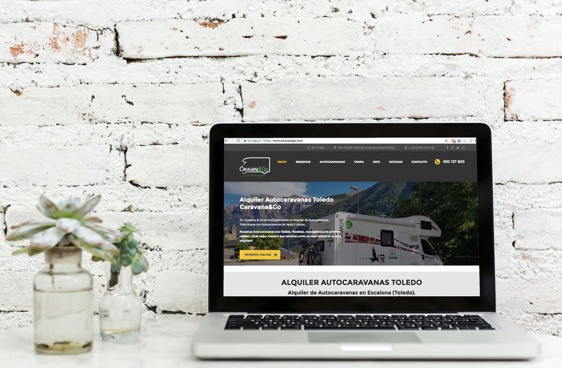 Diseño Web Wordpress - Alquiler Vehículos 0